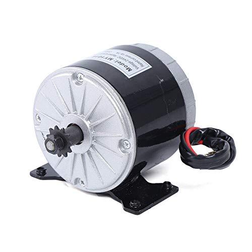 Motor magnético permanente, motor eléctrico de corriente continua, generador portátil, motor eléctrico de alta velocidad para instalaciones eólicas DC 24 V/36 V 350 W MY1016 (24 V)