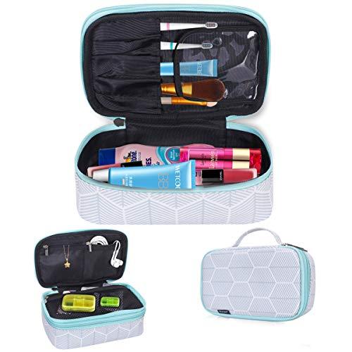 Skycase Toiletry Bag - Portable Travel Makeup Bag Cosmetic Bag for Women/Men, Green