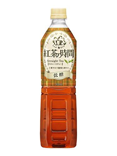 UCC 紅茶の時間 ストレートティー 低糖 ペットボトル 930ml×12本