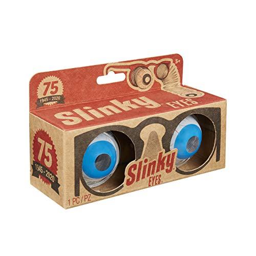 Slinky Brand Original Slinky Eyes in 75th Anniversary Retro Package