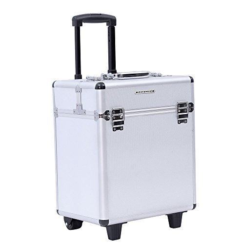 Songmics® trolley make up Beauty Case Nail Art Valigia Cofanetto Porta gioie smalti oggetti JHZ12S