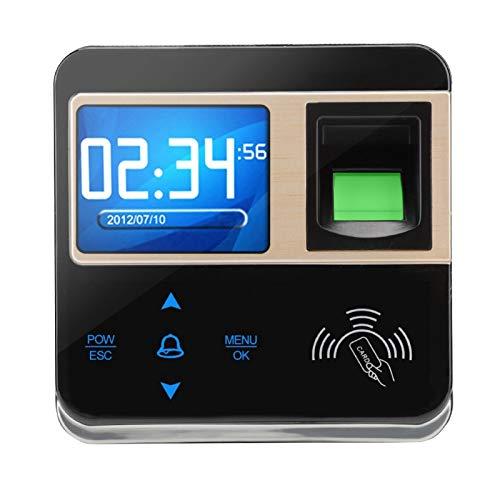 Reconocimiento Asistencia Huella Digital Hora de Asistencia Reloj de Asistencia Sistema de Asistencia Alarma de manipulación Menos de 1 Segundo para la Asistencia de los empleados(ID)