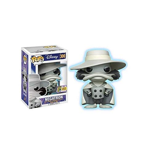 Darkwing Duck Funko POP! Disney Negatron Exclusive Vinyl Figure #300 [Glow-in-the-Dark]