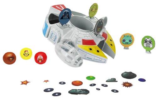 Hasbro Starwars Angry Birds - Millenium Falcon Bounce Spiel [Importato dalla Spagna]