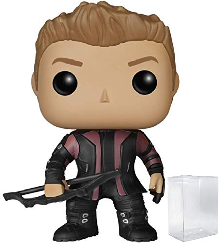 Marvel: Avengers 2 Age of Ultron - Hawkeye Funko Pop! Vinyl Figure (Includes Compatible Pop Box Protector Case)