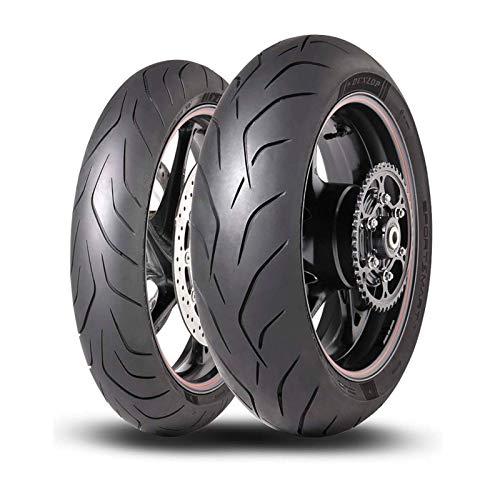 Coppia gomma pneumatici Dunlop Sportsmart MK3 120/70 ZR 17 58W 180/55 ZR 17 73W