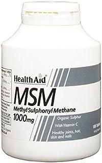HealthAid MSM 1000mg - 180 Vegetarian Tablets