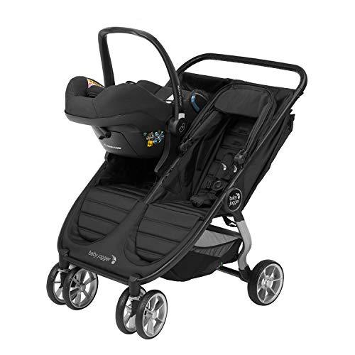 Baby Jogger City Mini2 Double und GT2 Double Kinderwagen-Babyschalenadapter | für Maxi-Cosi, BeSafe und Cybex Babyschalen