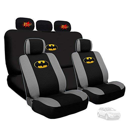 Deluxe Batman Car Seat Covers with 2 Classic POW!...