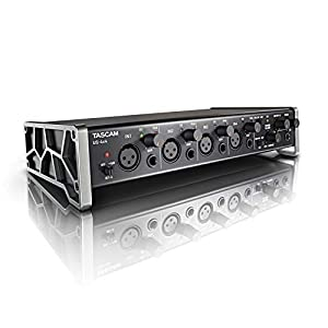 Tascam US-4x4 USB Audio/MIDI Interface with Microphone Preamps and iOS Compatibility by Tascam
