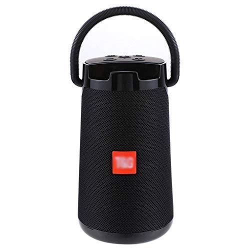 GUI De Alta Potencia de 30W estéreo portátil Impermeable Altavoz inalámbrico Bluetooth Subwoofer Torre de Sonido Sistema de Altavoces (Color : Black)