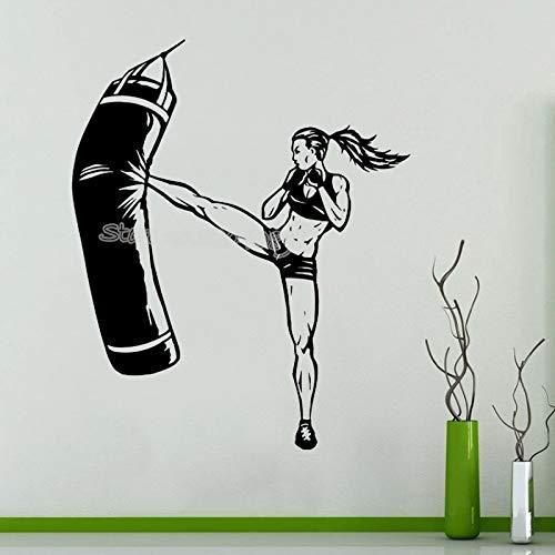 yaonuli Taekwondo Karate Vechtkunst Muurtattoo Kickboxen Sport Gym Sticker slaapkamer Decoratie Muurschildering