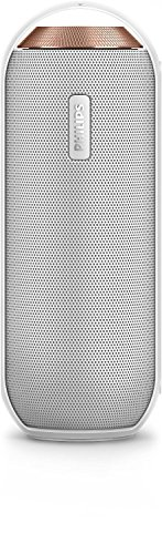 Philips BT6000W tragbarer, kabelloser Lautsprecher (Bluetooth, Spritzwassergeschützt, 12 Watt) weiß