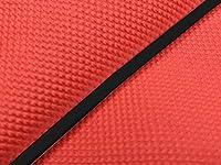 グロンドマン リード50SS グロンドマン国産シートカバー 張替(スベラーヌレッド) 仕様:黒パイピング リードSS