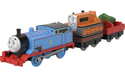 Fisher-Price Thomas & Friends Thomas & Terence, battery-powered motorized...