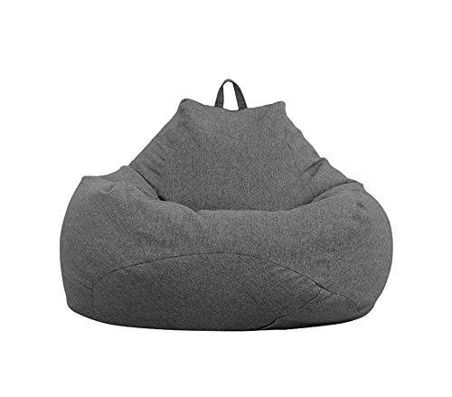 ZYLE Bean Bag Lazy Couch Tatami Sofá de una Sola habitación Dormitorio Sala de Estar Sencillo Cojín de Moda Diseño extraíble y Lavable (Color : A, Size : L)