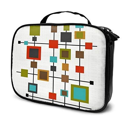 Sac cosmétique couleur carré combinaison sac de rangement portable multifonction sac fourre-tout adapté pour le sport, la gym, le yoga, la plage, la baignade