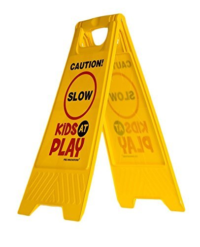 slow for kids sign - 5
