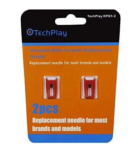 TechPlay Robyセラミックニードル2個セット ターンテーブル用 KPG1*2