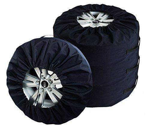 SET 4 Premium Funda para neumático Caso protector SET 17-22' XXXL