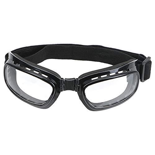 Motorcycle Glasses Sports Ski Goggles Anti Glare UV Protection Windproof Dustproof Motocross Sunglasses (Color : White)