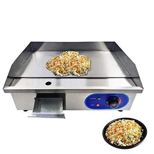 SISHUINIANHUA Acier Inoxydable Commercial Tous Les plaques de Cuisson électriques de Plaque chauffante pour la Cuisine à la Maison BBQ ménage poêles à Frire friteuse,UK