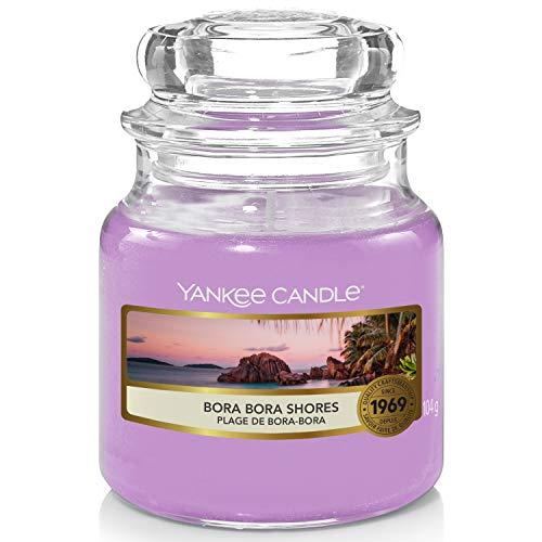 Yankee Candle Duftkerze, Glas, Lila, 104g