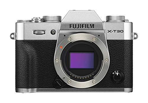 Fujifilm X-T30 Mirrorless Digital Camera, Silver (Body Only)