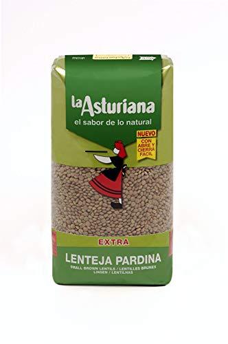 La Asturiana lenteja pardina bolsa 1KG