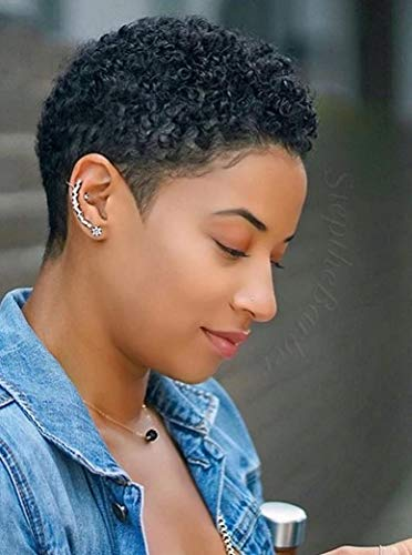 Short hairstyle wigs for black women