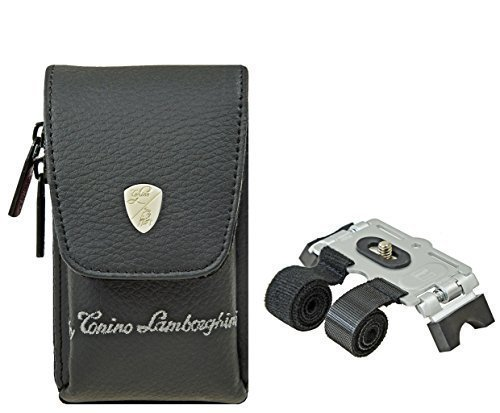 Fotos Juego Bolsa Lamborghini Piel para cámara con trípode para Canon IXUS...