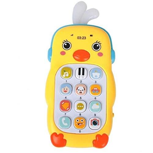 Teléfono Móvil del Bebé Teléfono De Juguete para Niños Teléfono Infantil Early Learning Máquina Juega Regalo Móvil