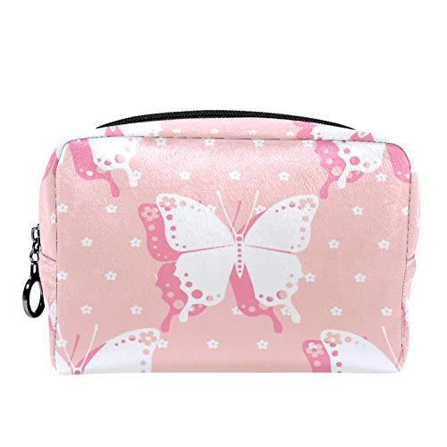 Bolsa de cosméticos Bolsa de Maquillaje para Mujer para Viajar para Llevar cosméticos, Cambio, Llaves, etc. Baby Butterfly