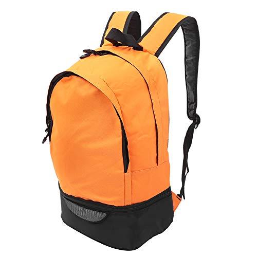 VIFER Sac à Dos Grande capacité Sport Sac à Dos décontracté épaule Sac d'école Voyage en Plein air randonnée Escalade(Orange)