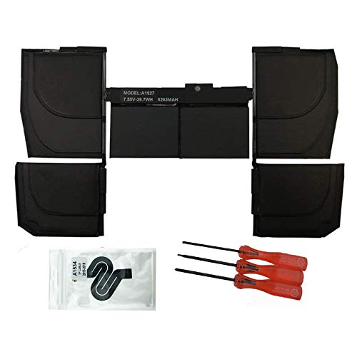 """EBKK A1527 A1534 Replacement A1705 Early 2015 2016 Mid 2017 EMC 2746 for Battery MacBook Retina 12"""" MF855LL/A MK4M2CH/A MK4M2LL/A MNYG2LL/A MF855CH/A MF865CH/A MF865LL/A MJY42CH/A MJY32LL/A 661-02267"""