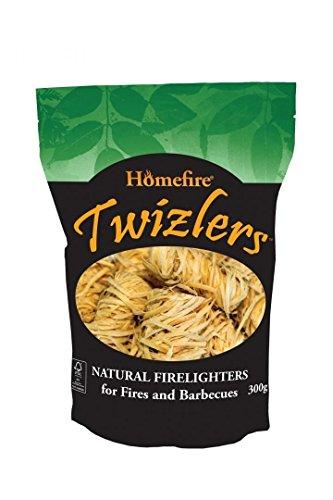 Homefire Twizlers (Wood Wool) Firelighters 300g (4)