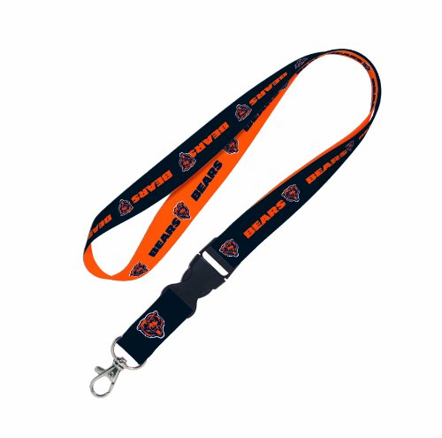 NFL Chicago Bears Lanyard with Detachable Buckle