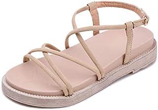 86ffc589d3 Primavera Y Verano Nuevas Sandalias Hembra Versión Coreana De La Moda  Zapatos De Playa De La