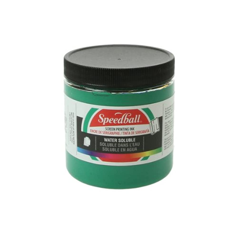 GREEN SCREEN PRINT INK 8OZ by Speedball