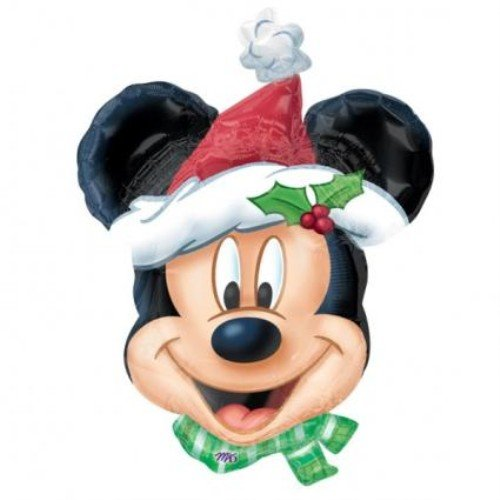 Folat 10241-02A Ballon de Noël Mickey Mouse Multicolore
