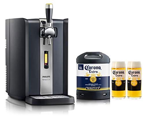 PerfectDraft Tireuse à Bière et 1 fût 6L Bière Premium - 5 euros de consigne inclus (Corona)