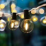 Catena Luminosa Esterno, Gimify LED 25+3 G40 Filo Luci 9 Metri Lampadine Luci All'aperto Illuminazione Impermeabile del Giardino Patio Casa Decorazioni Feste Matrimonio Natale
