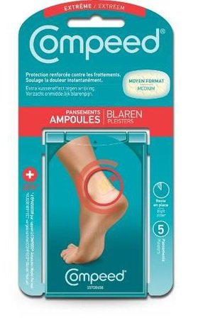 Compeed Extreme Heel Blister Plasters - 5 Units