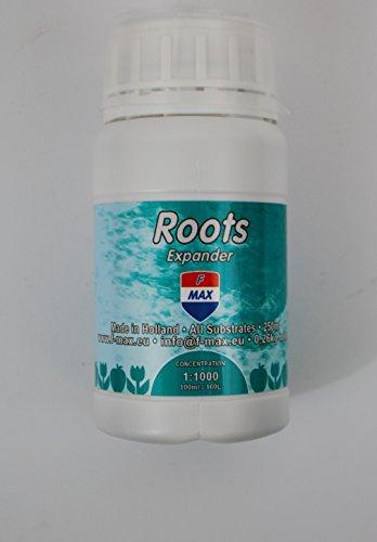 F-Max Roots Expander 250 ml Flasche Wurzelstimulator für alle Systeme-Düngemittel/Dünger-Rootbooster-Fertilizer