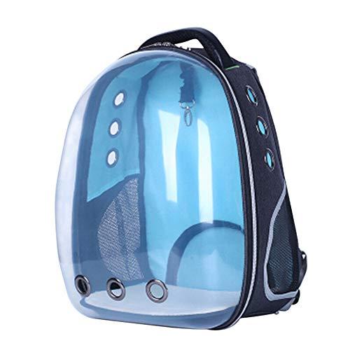 Tyld Panoramische transparante huisdier rugzak, draagbare ruimte capsule hond, kat handtas, winkelen met uw huisdier, wandelen, toerisme