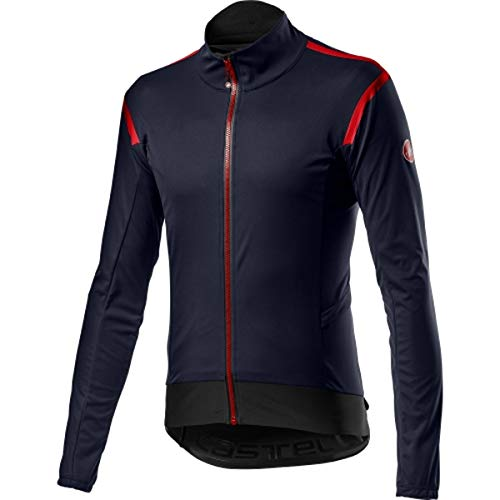 castelli Alpha Ros 2 Light Jacket, Giacca Sportiva Uomo, Savile Blue, XL