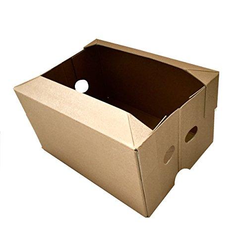 Nutley's Polycoated pliable Boîtes de légumes en carton