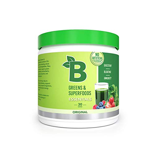 Bloom Nutrition Green Superfood | Best Tasting Greens Powder | Complete Whole Foods (Organic Spirulina, Chlorella, Wheat Grass), Probiotics, Digestive Enzymes, Antioxidants, & Adaptogens (Original)