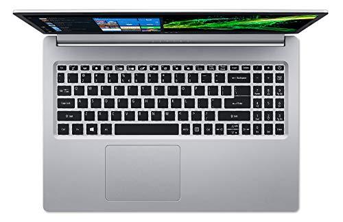 "Acer Aspire 5 Slim Laptop, 15.6"" Full HD IPS Display, 8th Gen Intel Core i3-8145U, 4GB DDR4, 128GB PCIe Nvme SSD, Backlit Keyboard, Windows 10 in S Mode, A515-54-30BQ"
