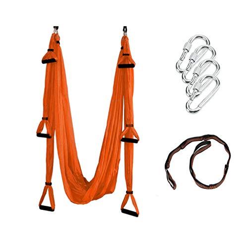 Best Deals! Karriw Aerial Yoga Swing - Strong Hammock Sling Inversion Tool for Aerial Yoga Antigravi...